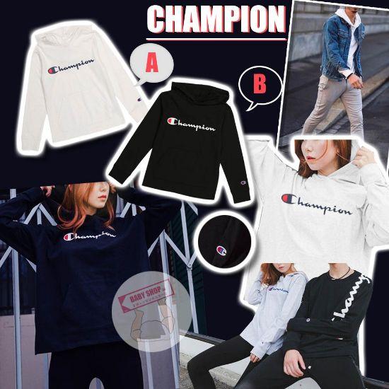 圖片 *貨品已截單*A P4U 11中:Champion 中童大logo經典款衛衣