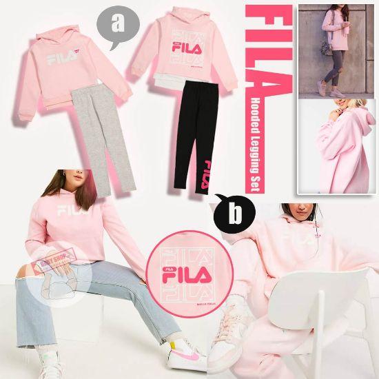 圖片 *貨品已截單*A P4U 11中:FILA女童套裝