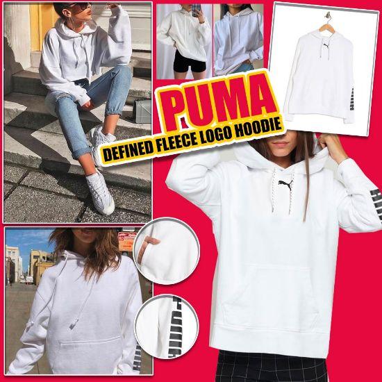 圖片 *貨品已截單*A P4U 11 底:PUMA中童女衛衣(白色)