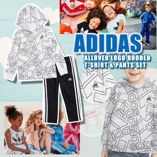 圖片 *貨品已截單*A P4U 11 底:Adidas中童套裝