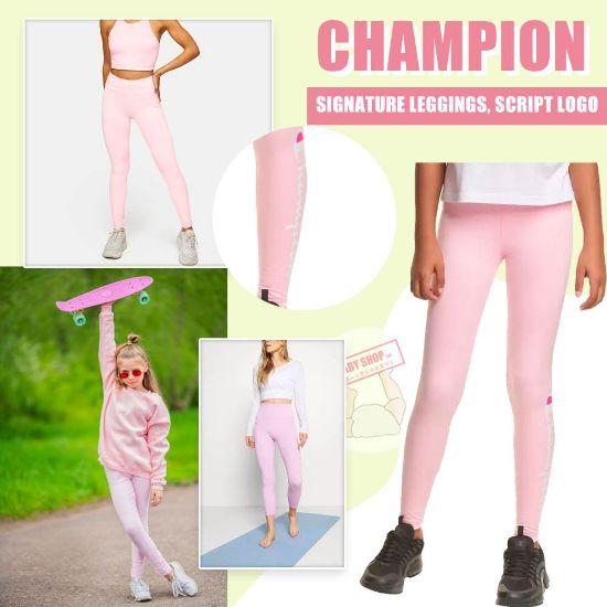 圖片 *貨品已截單*A P4U 11 底:Champion 女童legging(粉色)
