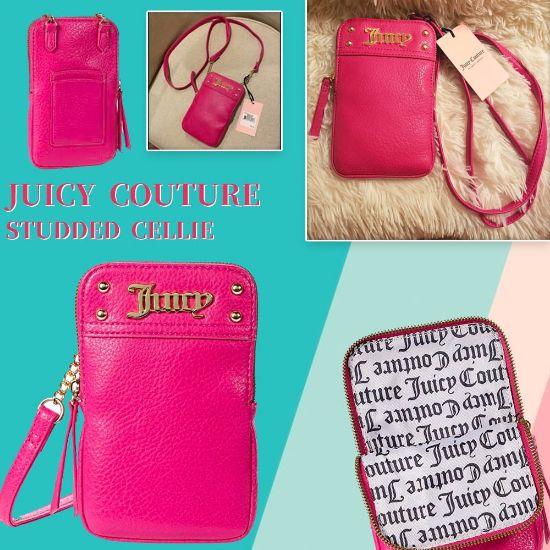 圖片 A P4U 11 底:Juicy Couture Studded Cellie(玫紅色)