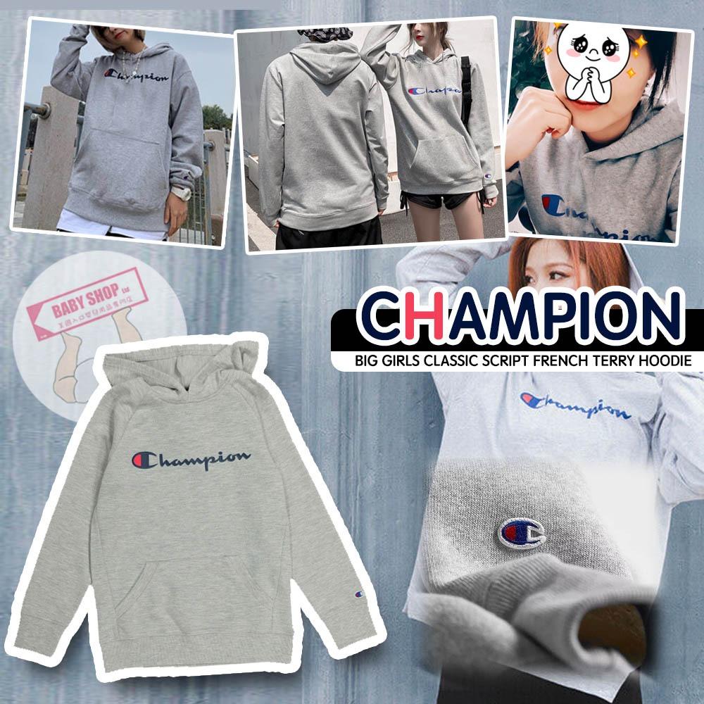 圖片 A P4U 11 底:Champion 中童大logo經典款衛衣(灰色)