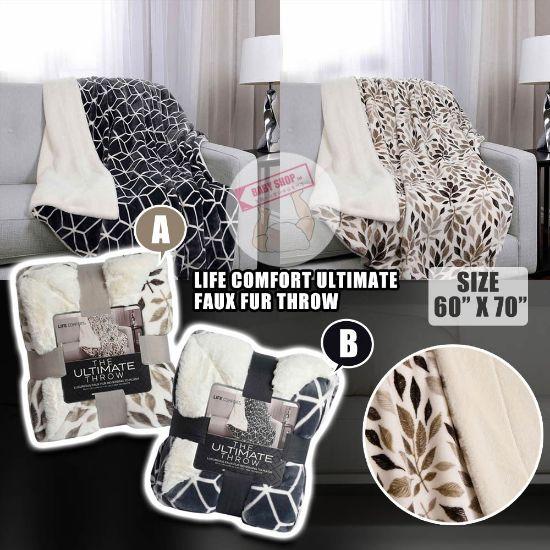 圖片 *貨品已截單*A P4U 11 底:Life Comfort Ultimate雙面毛毯