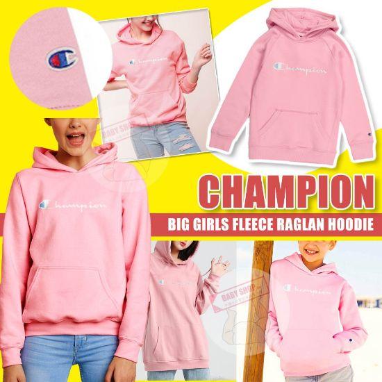 圖片 *貨品已截單*A P4U 11 底:Champion 女中童衛衣(粉色)