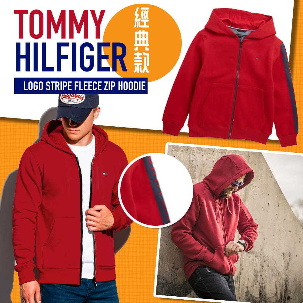圖片 *貨品已截單*A P4U 12頭:TOMMY HILFIGER拉鏈外套中童(紅色)