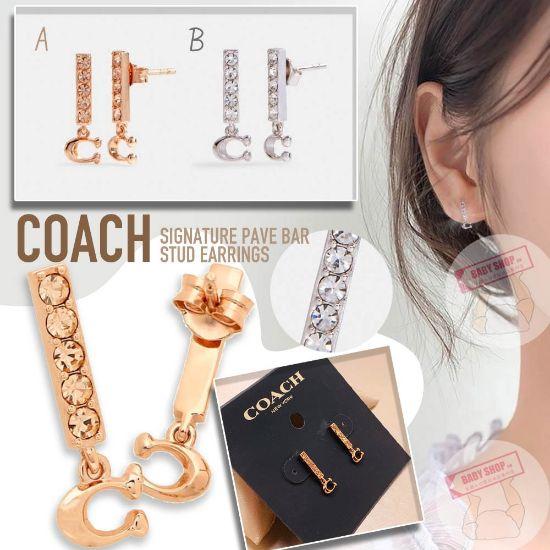 圖片 *貨品已截單*A P4U 12頭:COACH耳環