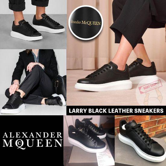 圖片 *貨品已截單*A P4U 12頭: Alexander McQueen 小黑鞋(39碼)