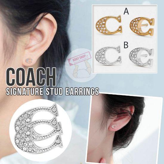 圖片 *貨品已截單*A P4U 12頭:COACH經典C耳環