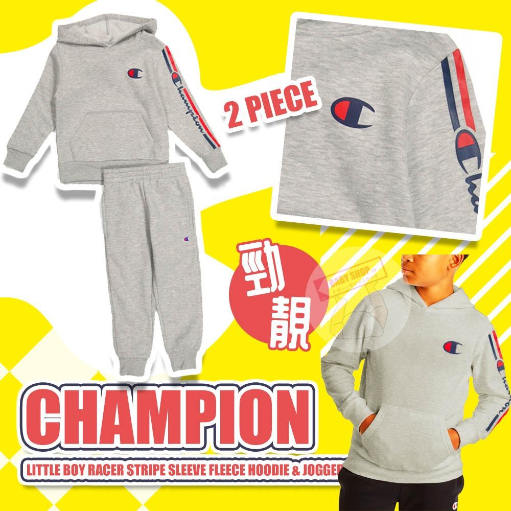 圖片 *貨品已截單*A P4U 12頭:Champion小童套裝(灰色)