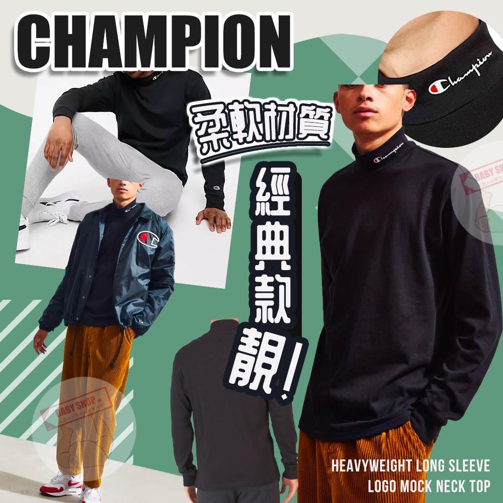 圖片 *貨品已截單*A P4U 12頭:Champion男高領帶logo長袖